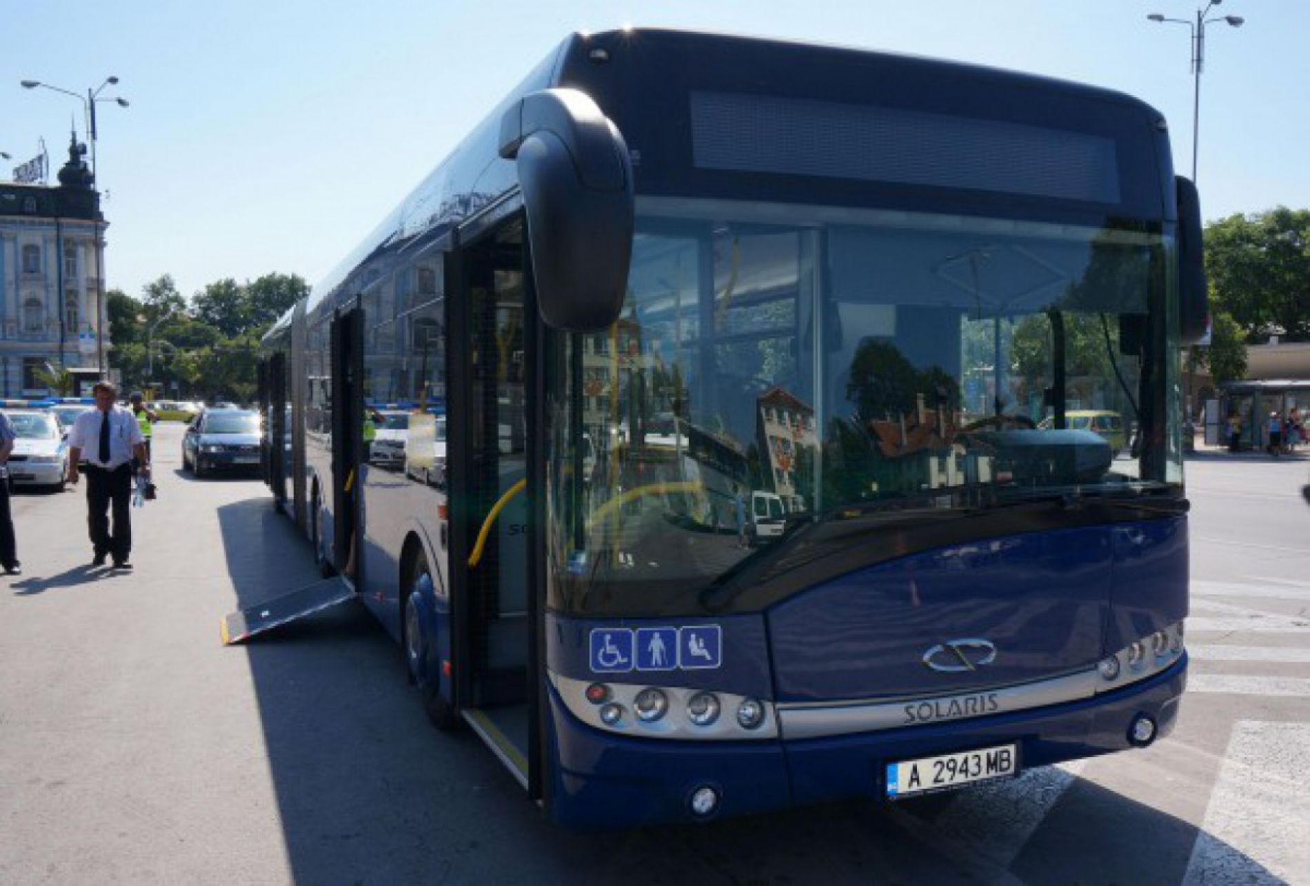 A new bus was presented in Varna
