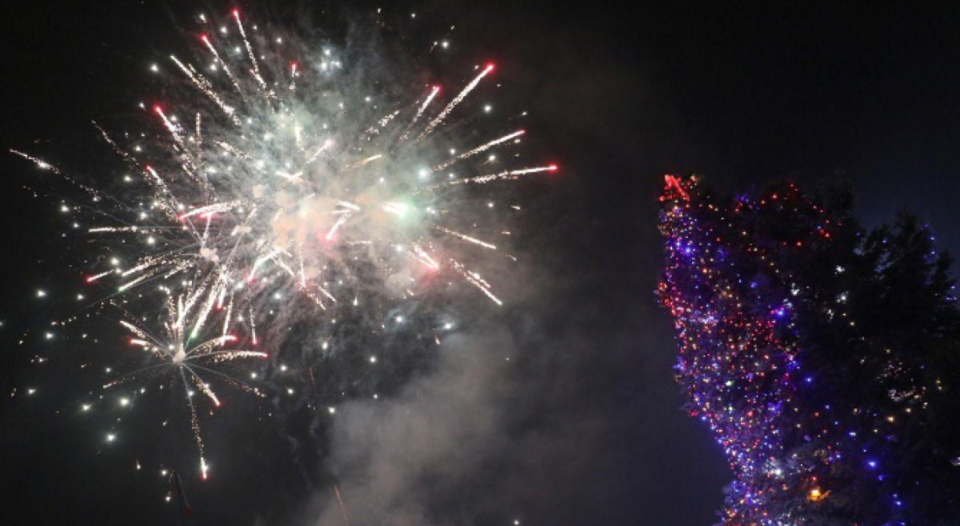 New Year's Eve concert, laser show and ice sculptures in Varna