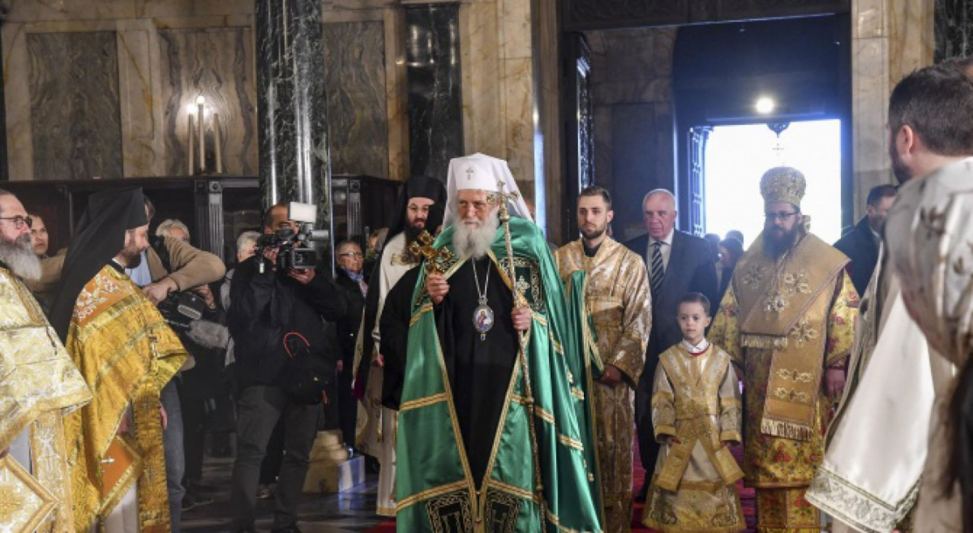 Patriarch Neophyt will serve a moleben for the new year 2020