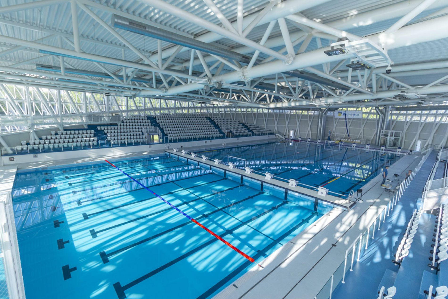 New Indoor Pool Opens in Burgas