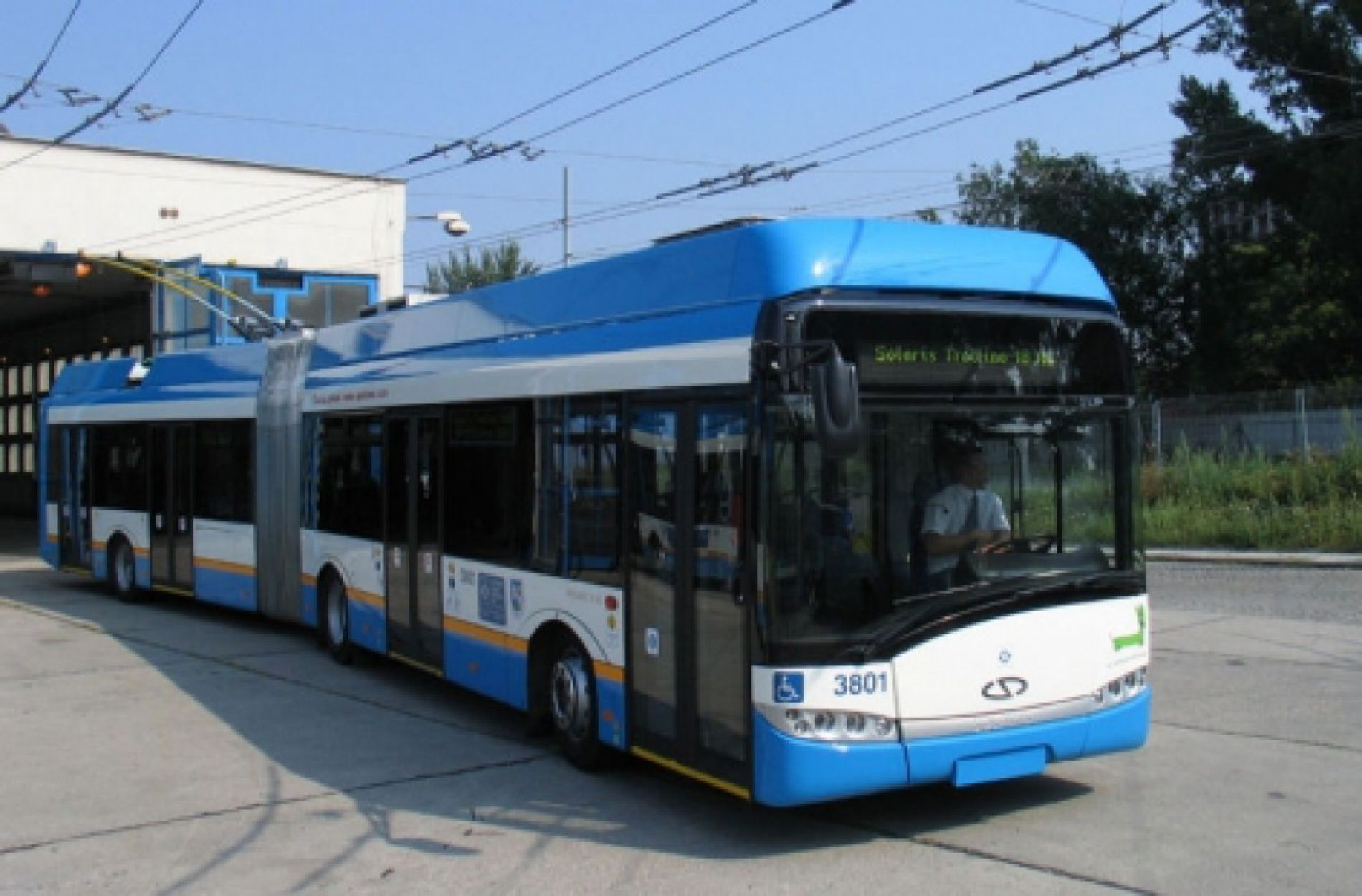 New trolleybuses in Varna