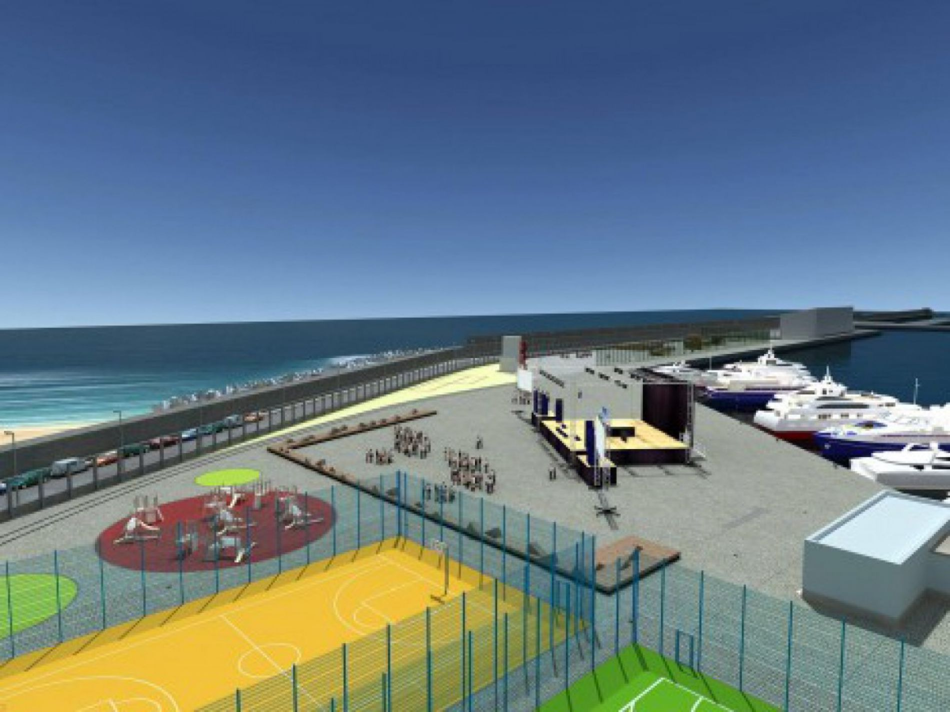 Opening of part of port for entertainment  approved  Varna - East