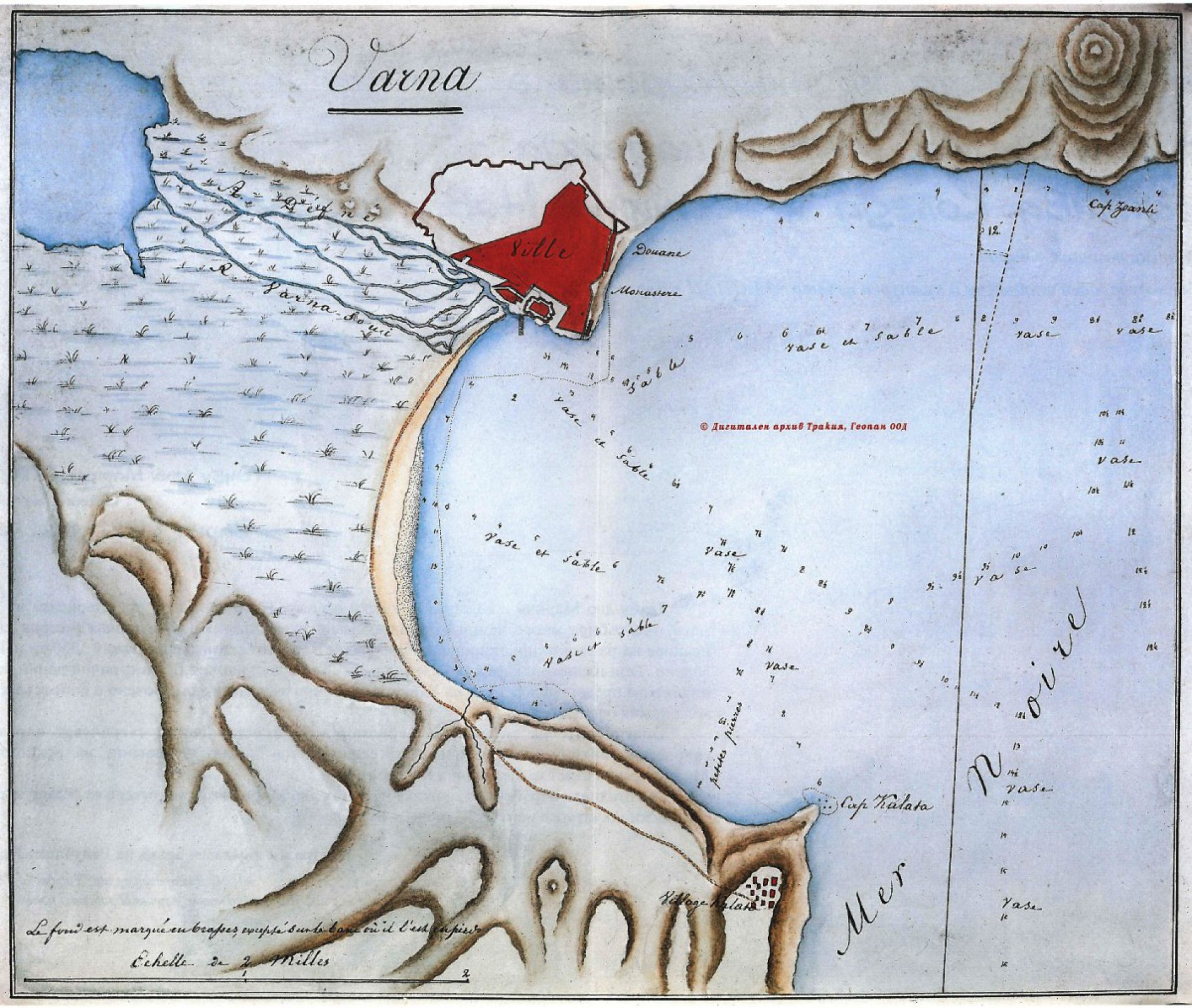 Varna Bay Plan 1830
