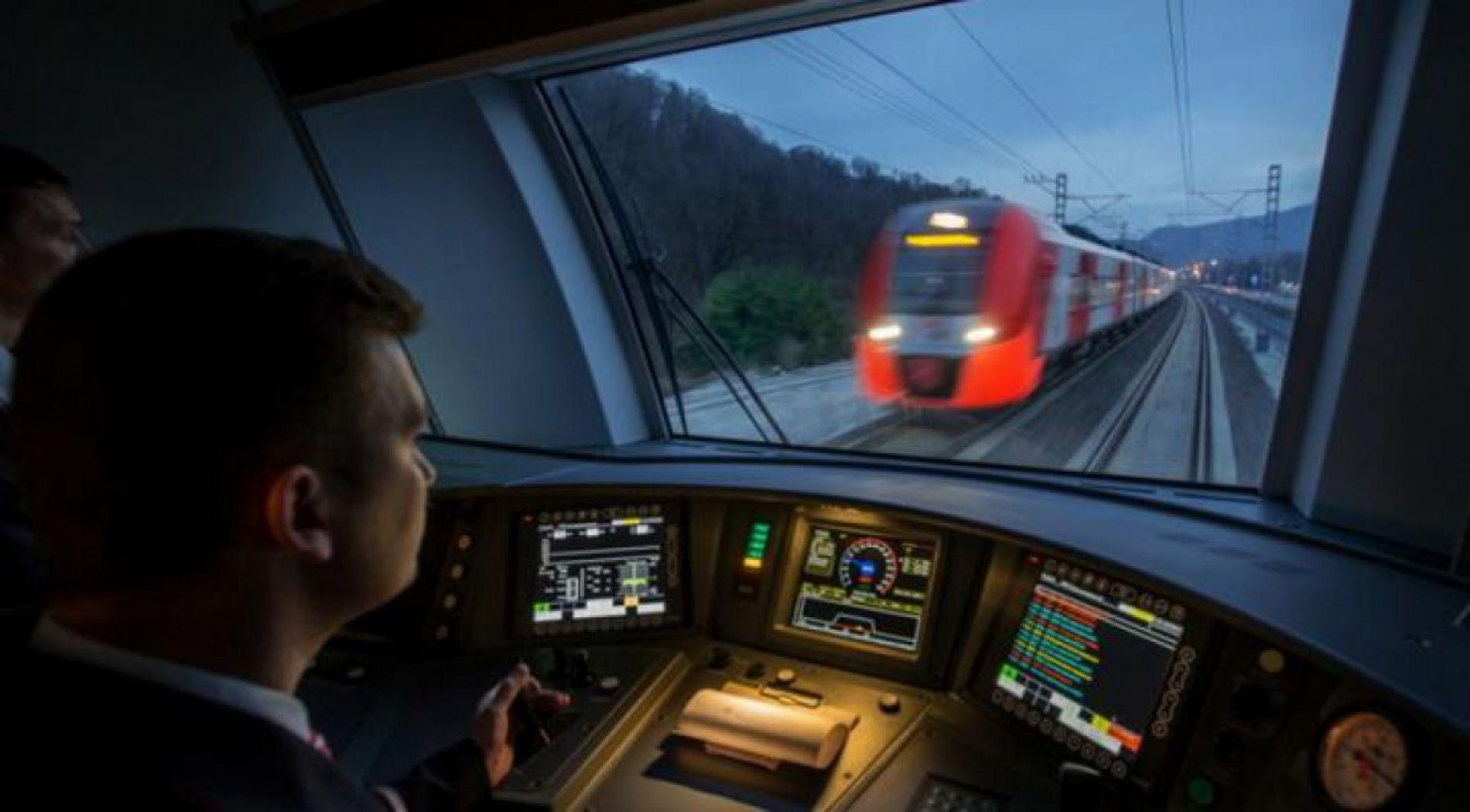 Train Sofia - Moscow