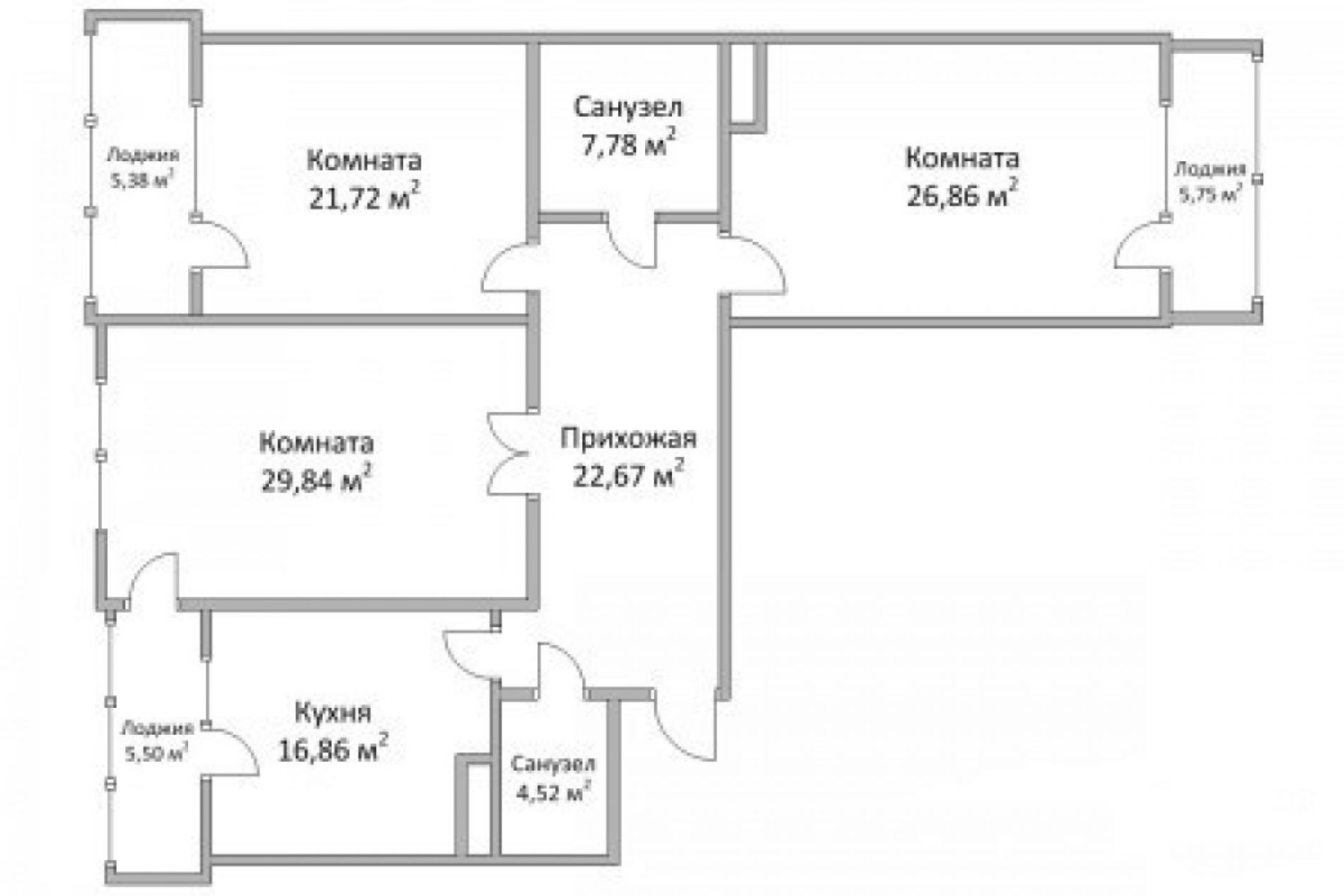 How to calculate the area of an apartment in Bulgaria - traps that you can fall into.