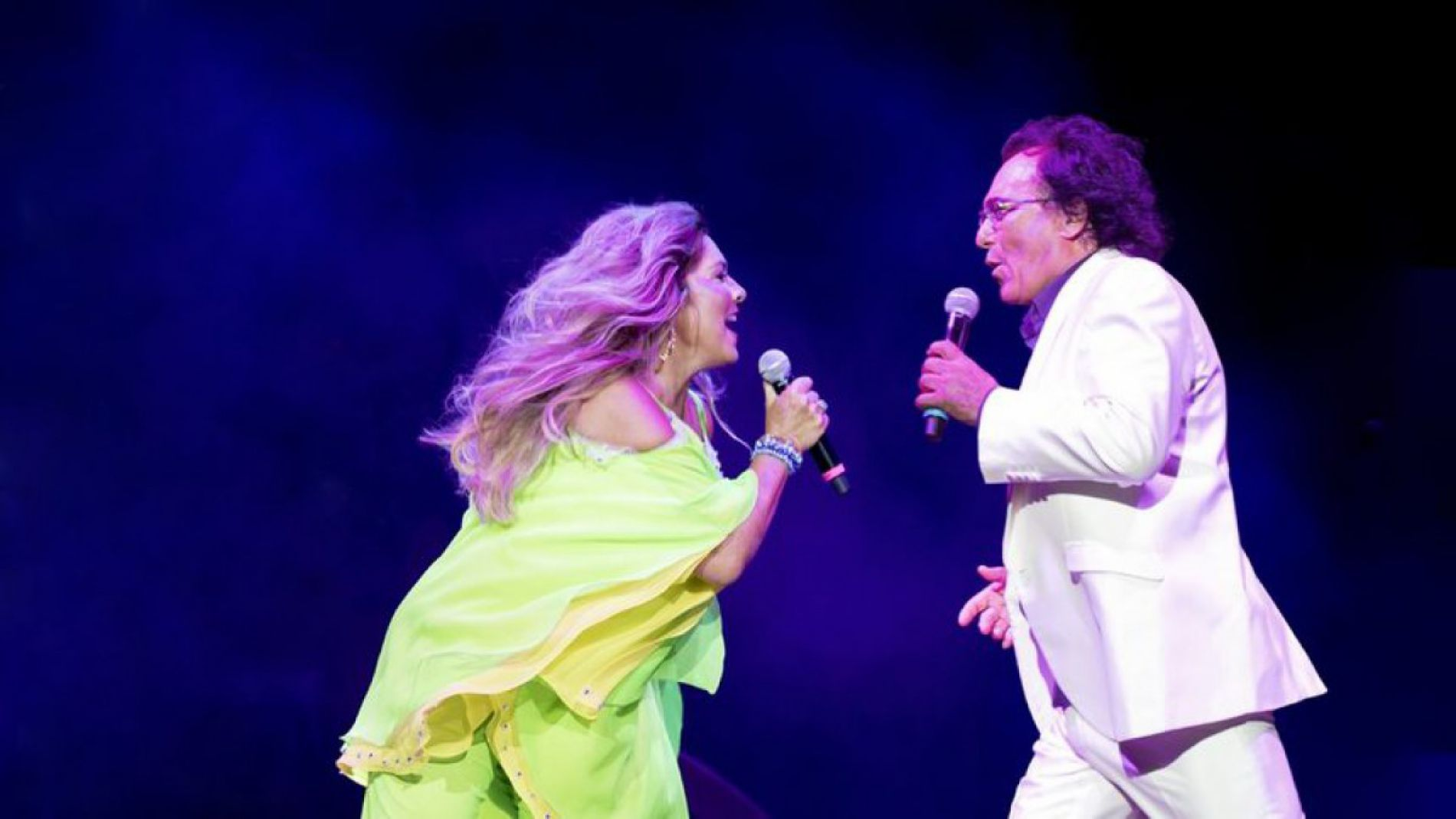 Al Bano and Romina Power give a concert in Sofia in December