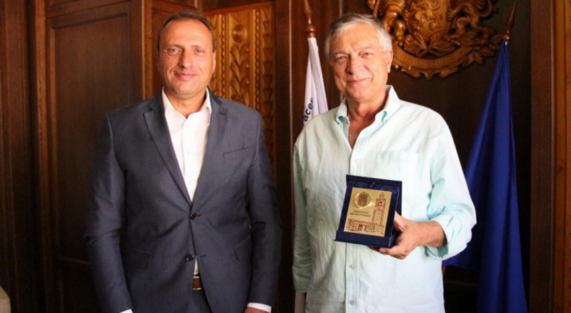Mayor of Bansko welcomed Honorary Consul of Italy - Antonio Tarquinio