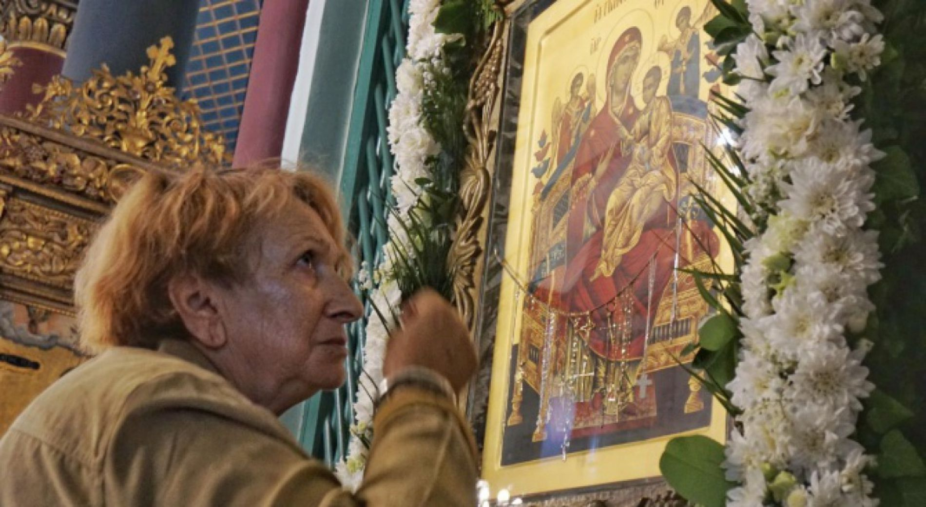 Residents of Varna worshiped the icon, which they consider miraculous