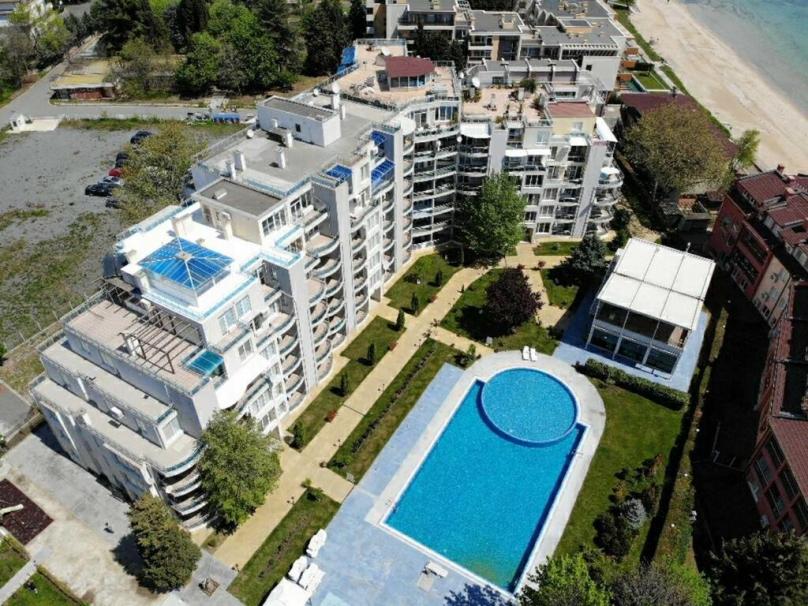 Territory of the Oasis complex in Ravda Bulgaria