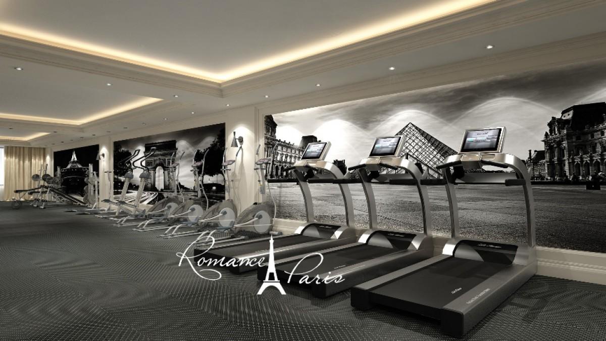 Fitness in the Romance Paris complex in Saint Vlas Bulgaria
